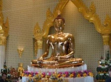 Buddha D'Oro Bangkok Golden Buddha
