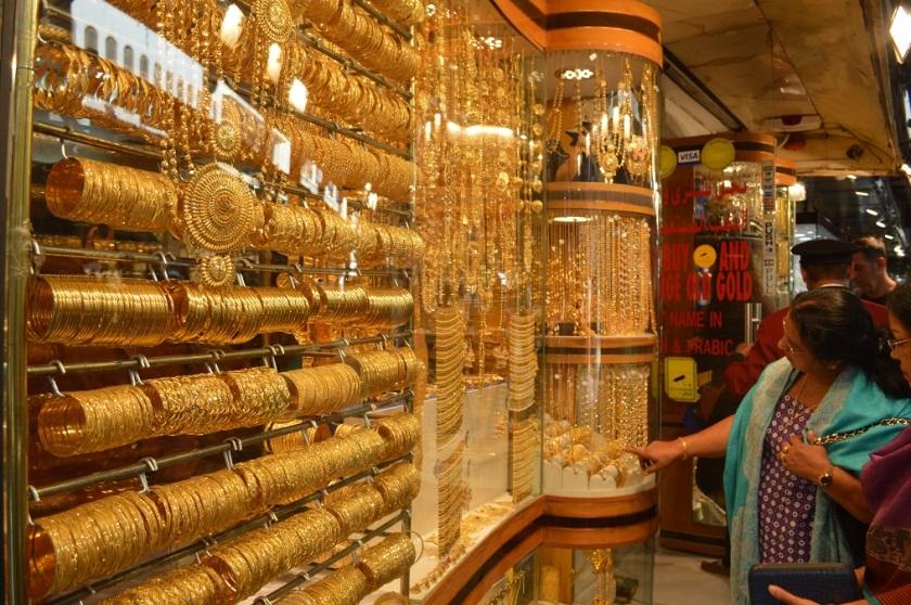 Old City Dubai negozi Oro