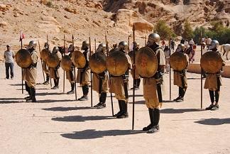 Petra e Gerasa - Journeydraft - PetraLegionariRomani