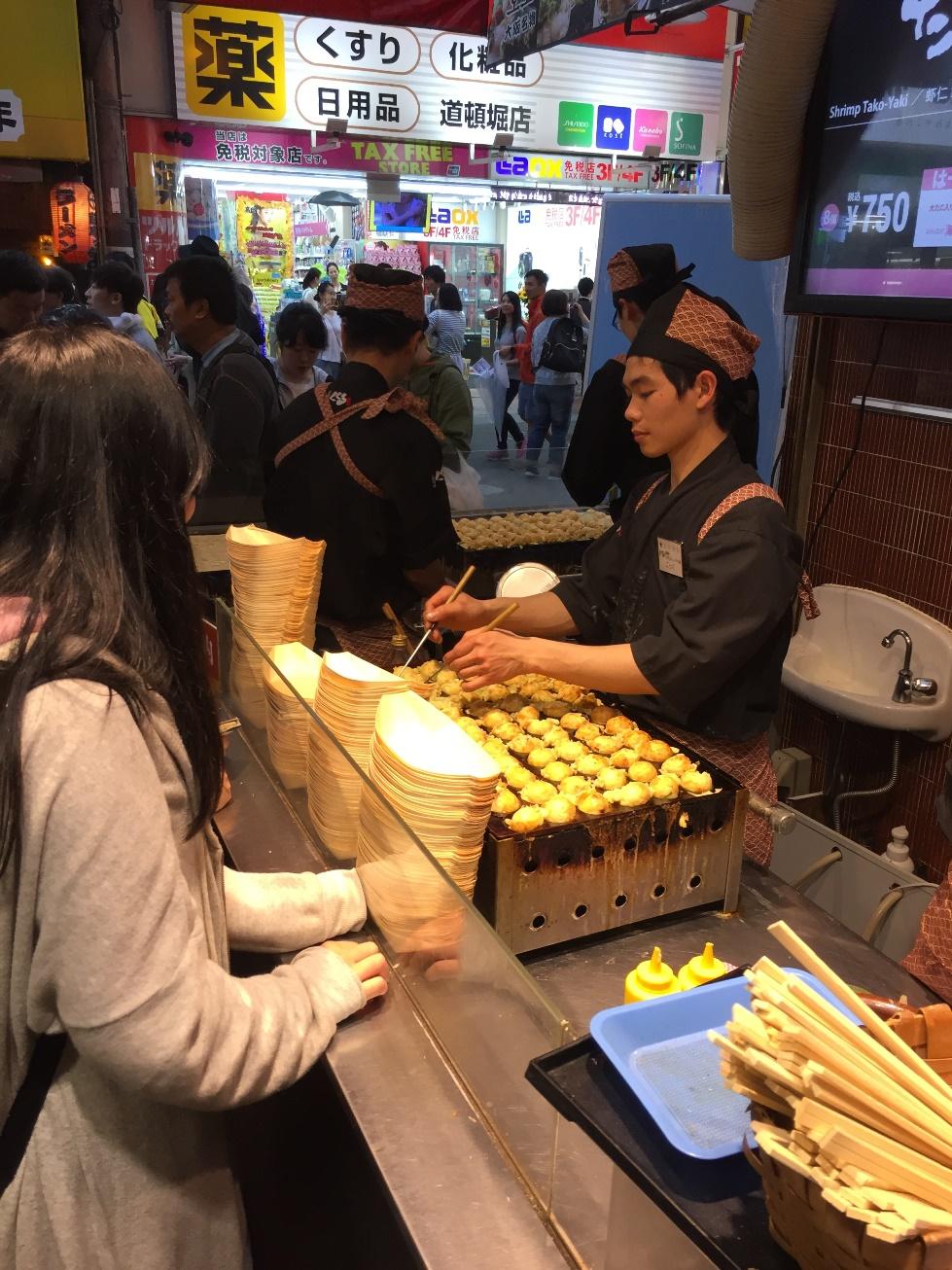 cibo Giapponese - Journeydraft - TakoYakipadella