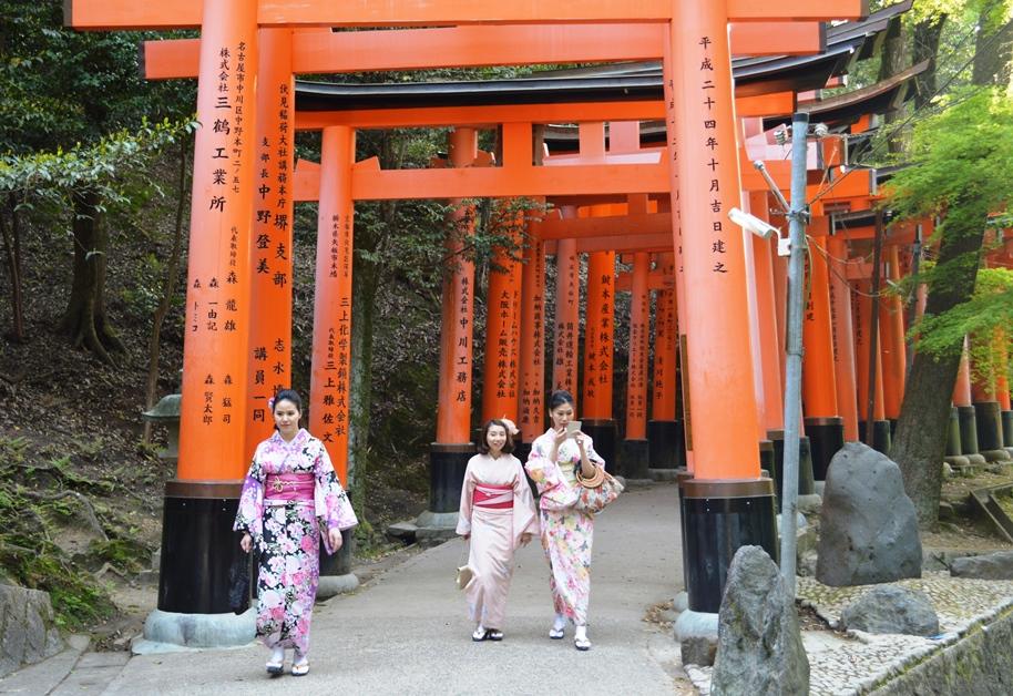 Giappone - Kyoto - Journeydraft - KyotoFushimiInariGiapponesine