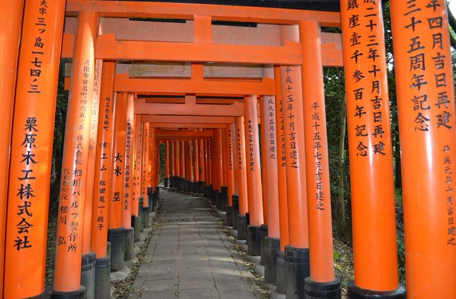 Giappone - Kyoto - Journeydraft - KyotoFushimiInariTunnelTori