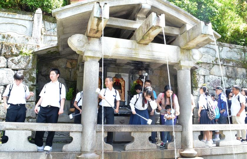 Giappone - Kyoto - Journeydraft - KyotoKiyomizuderaFontana