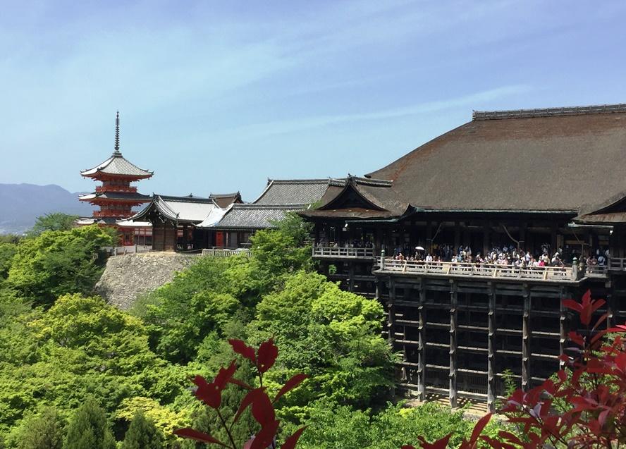 Giappone - Kyoto - Journeydraft - KyotoKiyomizuderaPanoramica