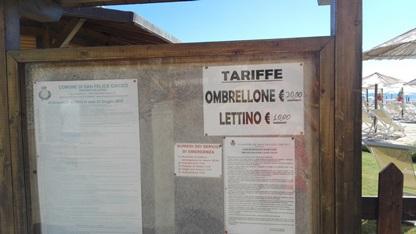San Felice al Circeo - Journeydraft - TariffaLidoSanFelice