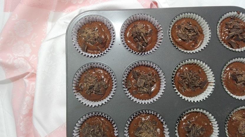 Muffin al cioccolato con Ricetta Bimby - Journeydraft - MuffinImpastoPirottini