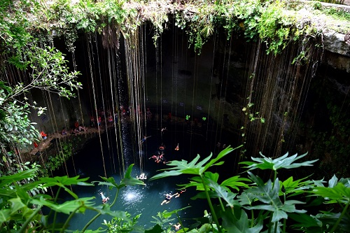 Messico spiagge caraibiche e siti Maya - Journeydraft - Cenote Ik Kil