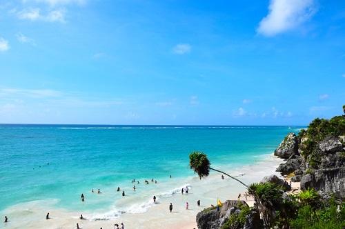 Messico spiagge caraibiche e siti Maya - Journeydraft - Tulum_ruin_beach