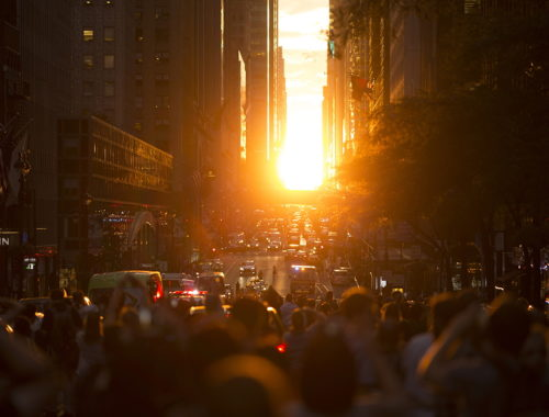 Manhattanhenge a New York - Journeydraft