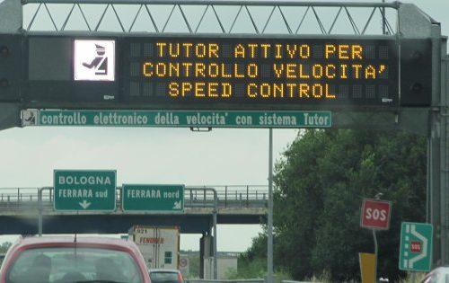 Nuovi tutor in autostrada da Luglio - Journeydraft