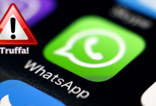 Whatsapp truffa! Attenti correntisti Unicredit - Journeydraft