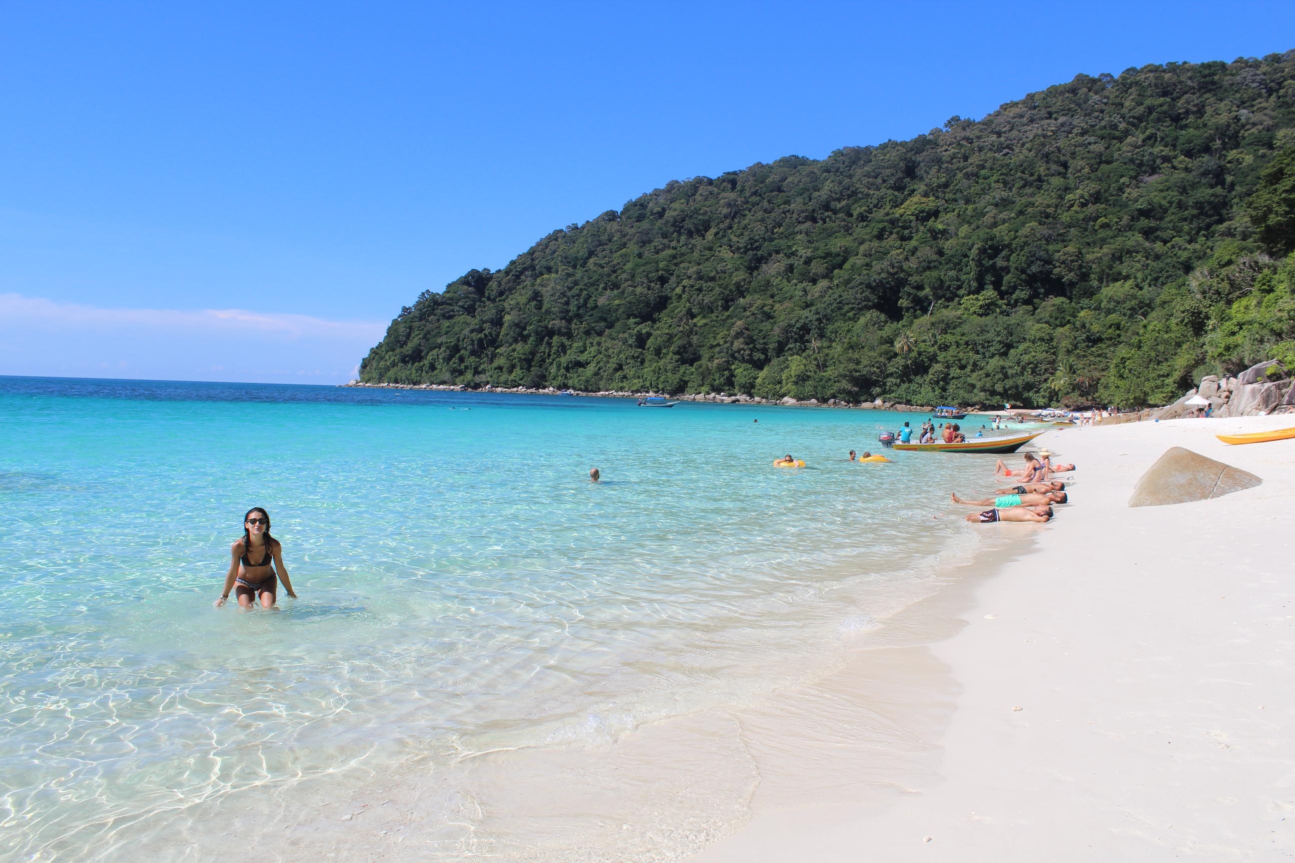 Isole Perenthian spiaggia - Journeydraft
